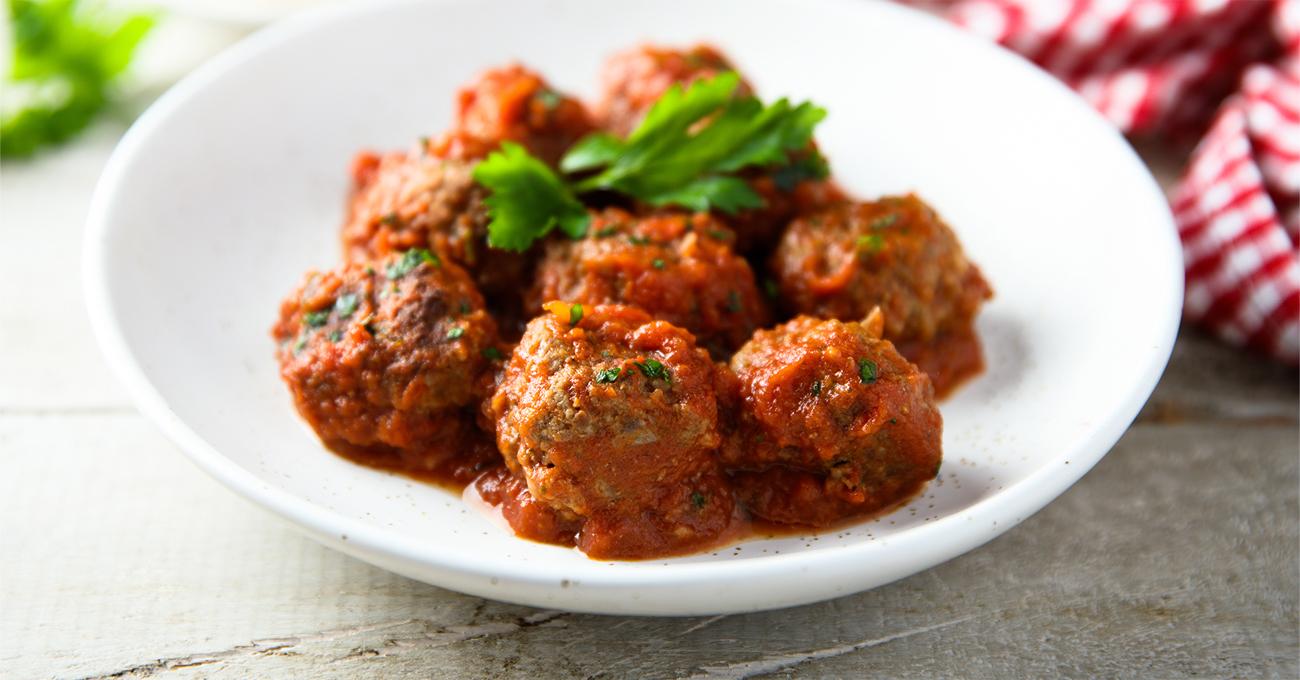 plant-based meat balls