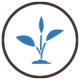 raw materials blue icon