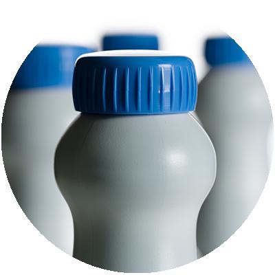 nutritional beverage in a bottle