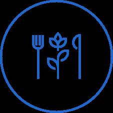 plant based food icon