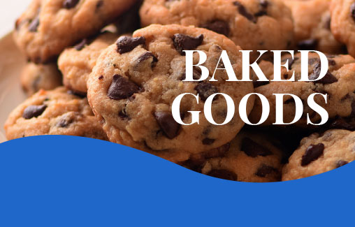 baked goods inforgraphic