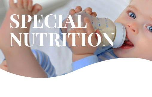 special nutrition infographic